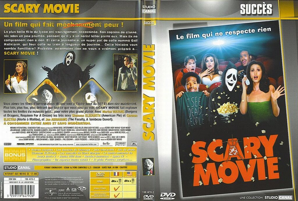 Jaquette Dvd Scary Movie 2 V2 Picture