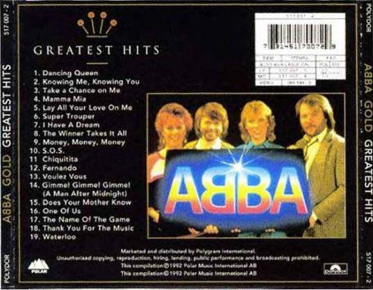 ABBA - Gold Greatest Hits   full album - YouTube