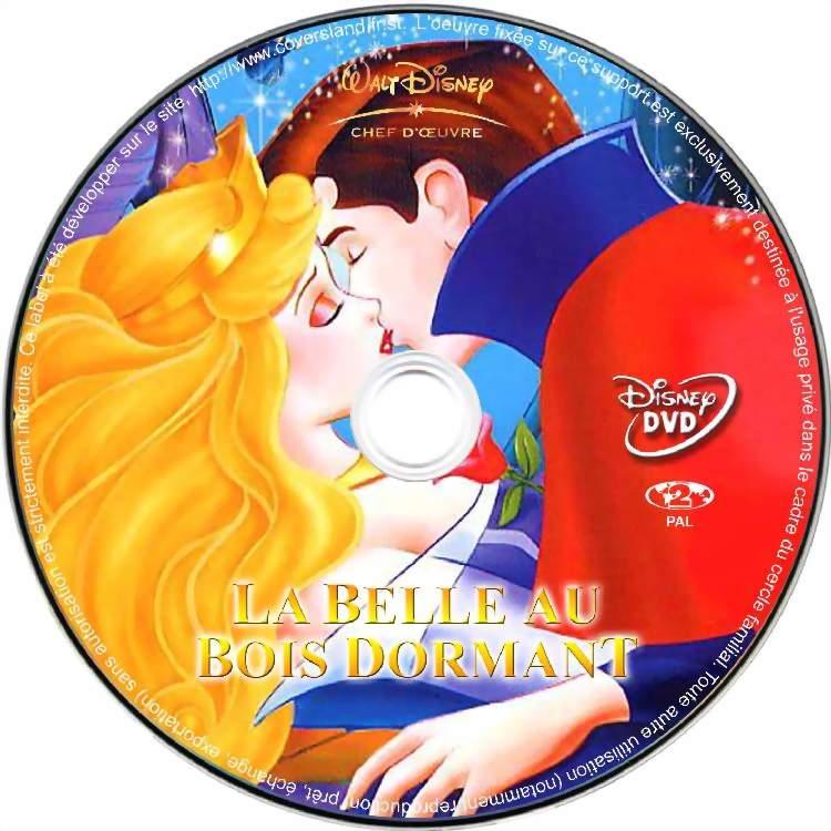 Covers Jaquette Dvd Music Divx Format boite Cd Francaise gratuite ~ La Belle Au Bois Dormant Dvd